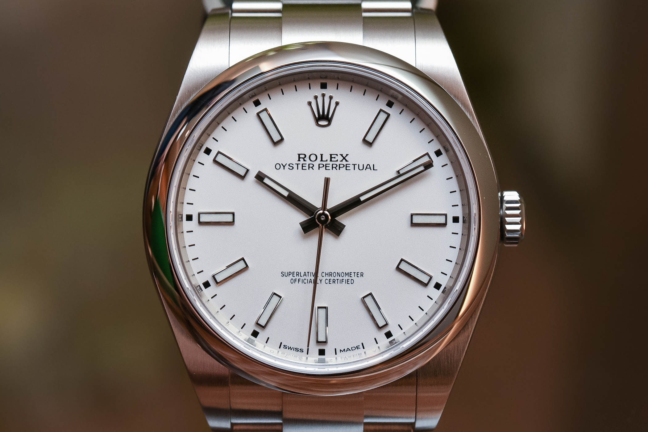 9f09b5cbc17 The fake Rolex Oyster Perpetual 39 ref. 114300 is widely known as the  winner. The secret to its success is a simple